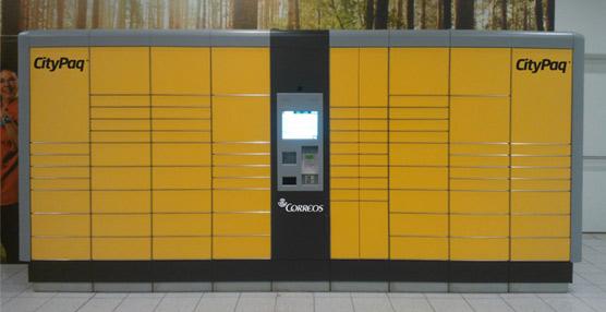 Correos comienza la instalación de los primeros Citypaq, máquinas de entrega de paquetes en lugares públicos