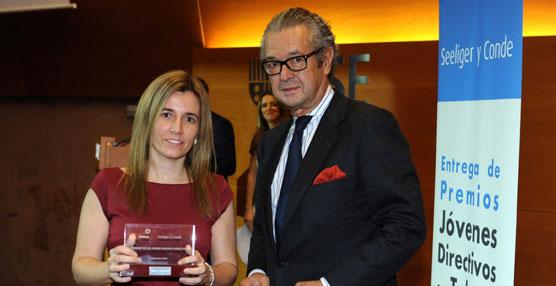 La mánager de carrocerías de la planta de Nissan en Barcelona, premio Jóvenes Directivos con Talento 2014
