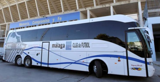 El fútbol español de primera división elige las soluciones de entretenimiento de Azimut Bus Solutions
