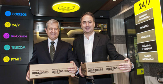 Los clientes de Amazon.es ya pueden recoger sus pedidos en las cerca de 2.400 oficinas de Correos