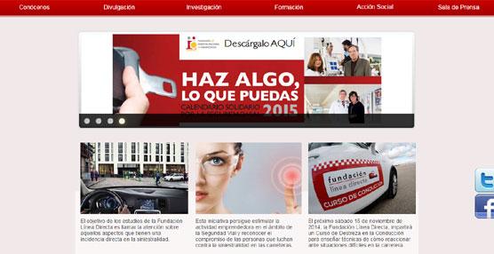 Iñaki Gabilondo e Isabel Gemio en el Calendario Solidario por la Seguridad Vial de la Fundación Línea Directa