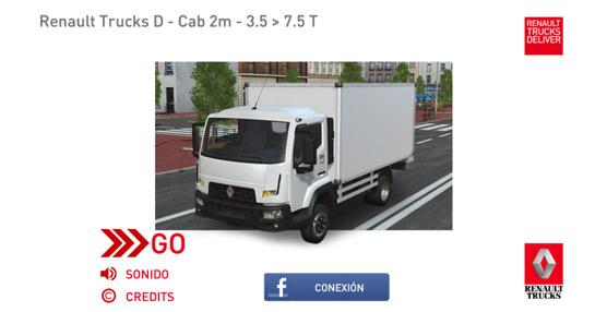 Renault Trucks lanza la aplicación TruckSimulator para experimentar la conducción de un camión