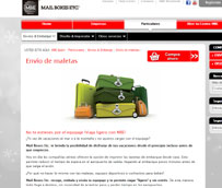 Mail Boxes Etc. crea un servicio que refuerza por estas fechas dado el incremento en su demanda: El 'Envío de Maletas'
