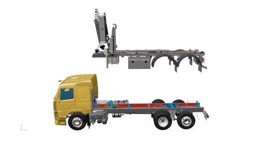Volvo Trucks utiliza bocetos en 3D en el diseño de chasis y carrocerías