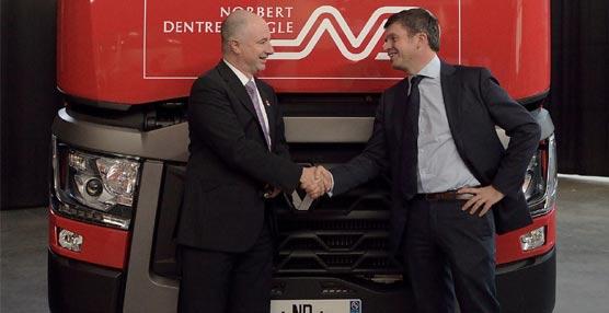 Norbert Dentressangle confía en Renault Trucks con un pedido de 530 vehículos 'Origine France Garantie'