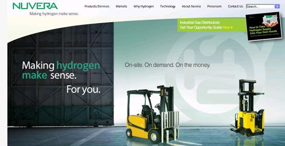 Nacco Materials Handling Group anuncia la adquisición de una compañía de pilas de combustible de hidrógeno