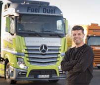 Mercedes-Benz Actros demuestra sus credenciales de ahorro de combustible, ganando otra prueba de comparación