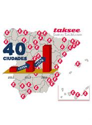 Murcia, Elche, Pamplona, Logroño, Granollers y Mollet del Vallès son las seis nuevas ciudades de la red taksee