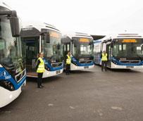 Los nuevos autobuses híbridos de la ciudad de Cartagena ahorrarán un 39% de combustible