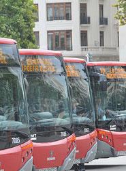 El Ayuntamiento de Valencia evalúa la entrada de los autobuses de la EMT al centro de El Palmar