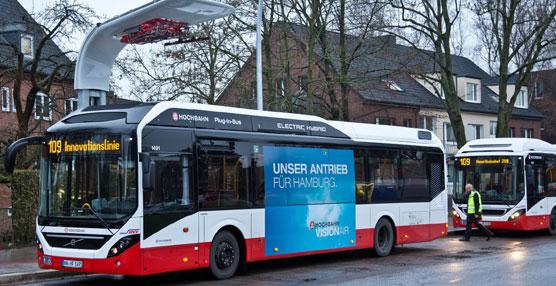 Volvo Buses y Siemens firman un acuerdo global para el suministro de sistemas de electrificación