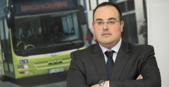 Manuel Fraile asume la dirección comercial de buses en MAN Truck & Bus Iberia a partir del 16 de febrero