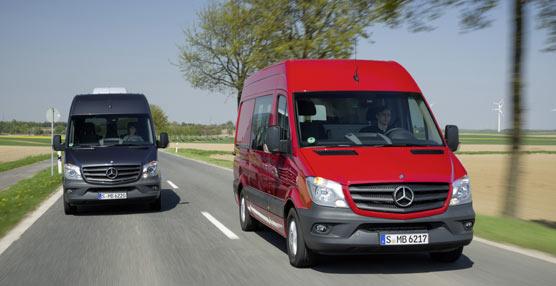 Mercedes-Benz celebra los 20 años de éxito del modeloSprinter con récord de ventas anuales en 2014