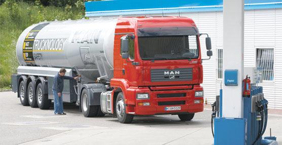 El PVP promedio de la gasolina disminuyó en diciembre un 8,9% por sexto mes consecutivo