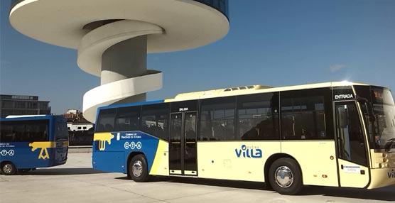 Autos Villa comienza a operar hoy la línea Avilés-Luanco con una flota de 10 vehículos y 12 personas en plantilla