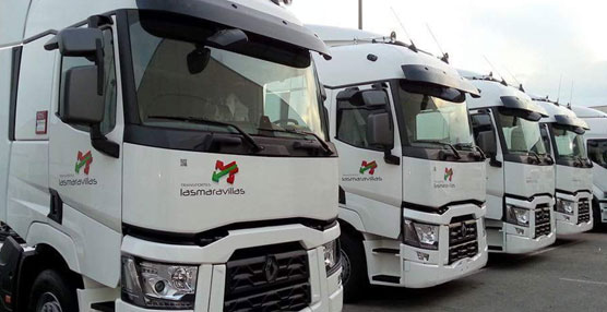 Transportes Las Maravillas renueva su confianza en las prestaciones, el ahorro y la ecología del Renault Trucks T