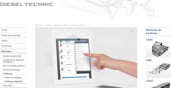 DT Spare Parts amplía la oferta de servicios con catálogos de productos vía 'online'