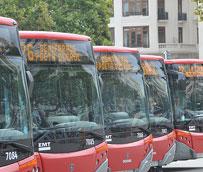 Los autobuses de EMT Valencia rodarán ininterrumpidamente las 24 horas del día durante la semana fallera