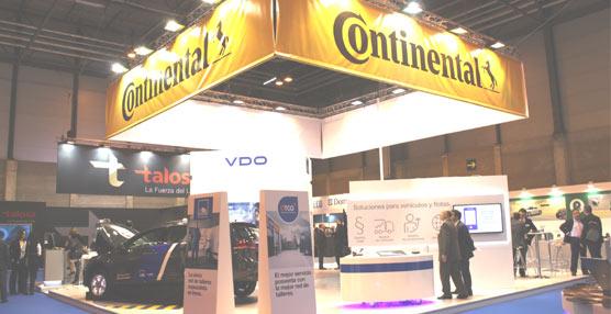Continental presenta en Motortec 2015 sus últimas innovaciones en la gestión de flotas y tacógrafos digitales