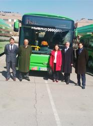 Colmenarejo adquiere cinco autobuses híbridos de Iveco Bus para el transporte urbano por el municipio