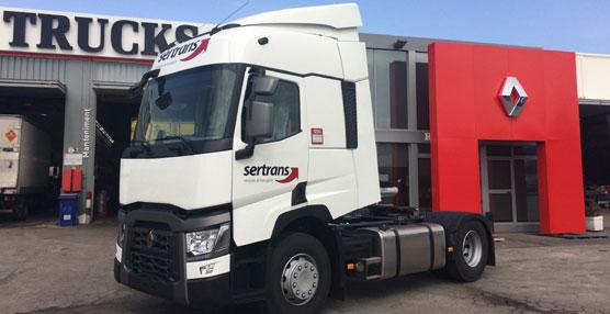 Sertrans amplía su flota con 65 Renault Trucks T, para satisfacer el crecimiento de sus clientes y nuevos negocios