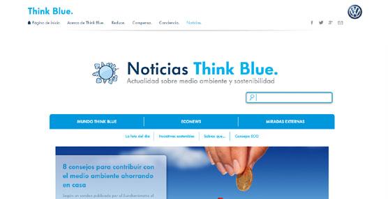 Volkswagen lanza el 'portal' sobre sostenibilidad y medioambiente 'Noticias Think Blue'