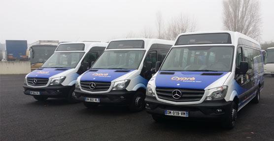 VDL entrega tres autobuses MidCity a la empresa francesa de transportes Cars Charlot