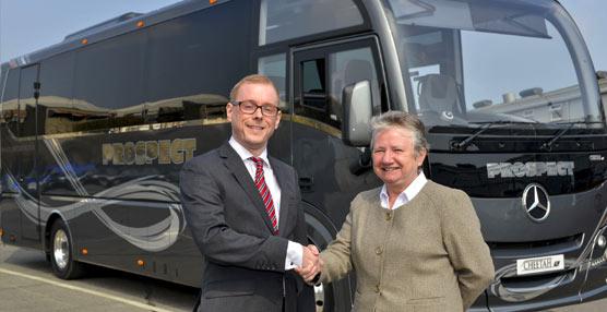 Lanzamiento en el Reino Unido del nuevo autobús turístico compacto de Plaxton: el modelo Cheetah XL