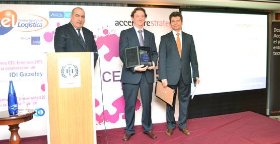 Entrega de los premios CEL 2015,el reconocimiento más prestigioso del sector logístico español