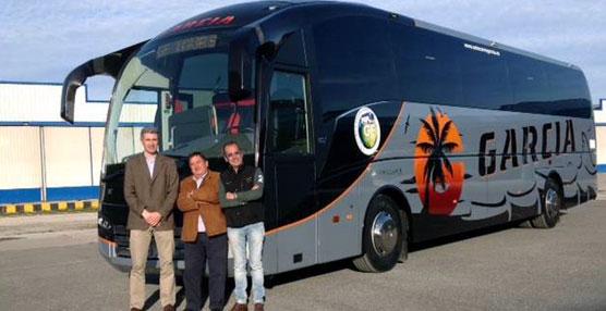 Autocares Mi-Sol, Autocares García y Autocares Berzosa apuestan por el carrozado de Sunsundegui