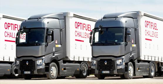 El Optifuel Challenge 2015 de Renault Trucks arriba a la ciudad de Valencia en busca del Eco-conductor del año