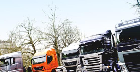 Aumentan las matriculaciones de vehículos comerciales en la UE respecto al primer trimestre de 2014