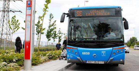 La EMT de Madrid pone en funcionamiento la línea 180 entre Legazpi y la Caja Mágica entre el 4 y el 10 de mayo