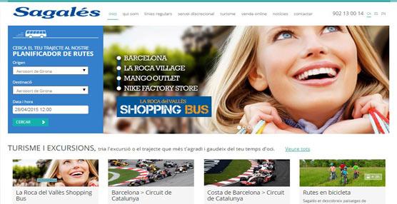 Sagalés estrena nueva página web corporativa, que destaca por su mayor usabilidad y navegación más veloz y cómoda