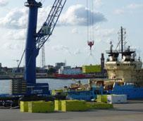 Siemens elige a Cuxport como el especialista en logística de servicio para sus plataformas marítimas en el Mar del Norte