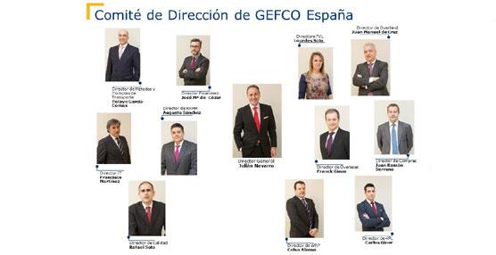 GEFCO España reestructura su Comité de Dirección con nuevas áreas estratégicas de negocio