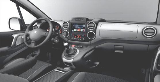 El nuevo Peugeot Partner celebra su lanzamiento con cámara de visión trasera y navegador de serie