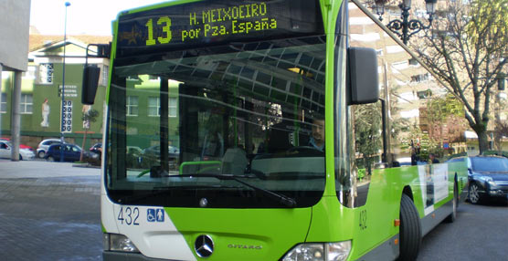 Galicia perdió en el ejercicio de 2014 diez millones de pasajeros en los servicios de autobuses urbanos