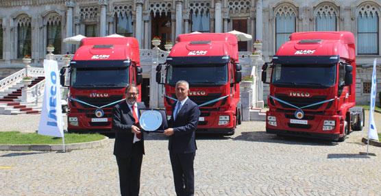 El grupo Mars Logistics adquiere 200 camiones Iveco Stralis Hi-Road fabricados en la planta de Madrid