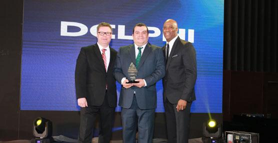"""Marcotran recibe en Shangai el premio """"Above & Beyond"""" de Delphi Automotive"""