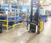 Yale optimiza el parque de carretillas elevadoras en la planta de Borgers a través de Hispaman