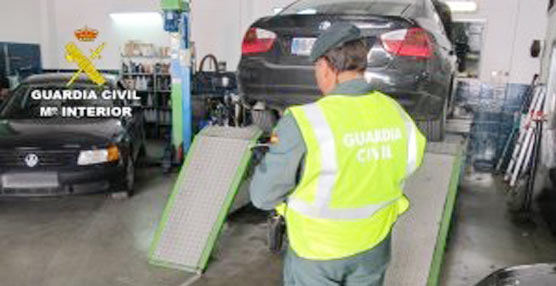 La Guardia Civil aumenta el número de inspecciones para acabar con el mayor número posible de talleres ilegales