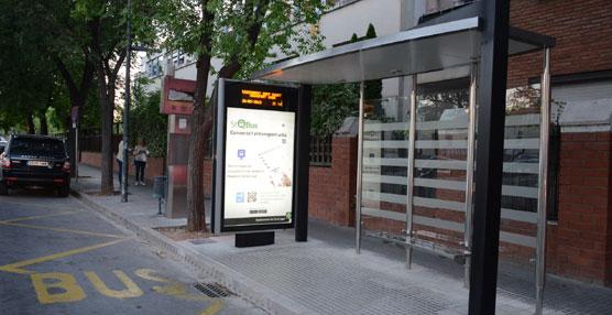 Sant Cugat del Valles instala cuatro prototipos de marquesinas inteligentes para las paradas de autobuses