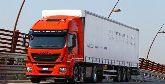 Un Iveco Stralis fabricado en la planta de Madrid es el primer vehículo de gas natural que va a circular en Israel