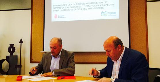 El Gobierno de Navarra y la Mancomunidad de Pamplona pretenden instaurar una tarjeta única de transporte