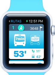 'EMT Madrid Watch' es una aplicación para el reloj inteligente de Apple que ofrece información en el momento