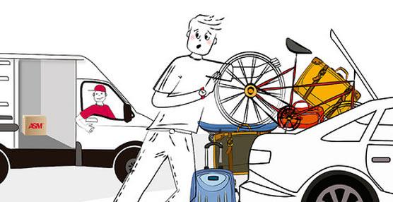 ASM presenta ASM Travellers, su nuevo servicio para el envío urgente de equipaje y bicicletas