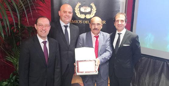 La compañía de autobuses y autocares Alsa es galardonada en los XV Premios del Motor de Castilla y León