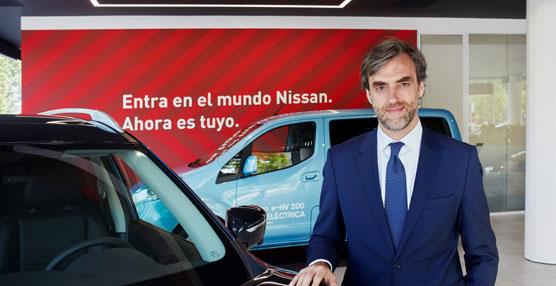 Manuel Burdiel es nombrado director de Ventas de Nissan Iberia para los mercados de España y Portugal