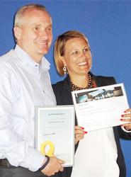 Dachser recibe el Lufthansa Cargo Quality 2014 para Europa y África por su excepcional fiabilidad de servicio